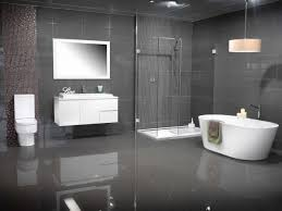 Grey Modern Bathroom Modern Bathroom Colors Grey Tiles White Floating Vanity