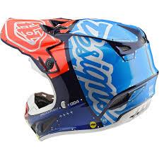 safest motocross helmet new troy lee designs 2018 mx se4 composite factory navy tld
