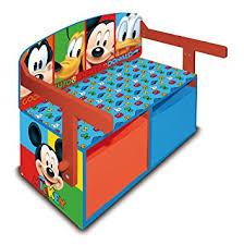 bureau mickey arditex 008329 bureau banc coffre de jouets en bois meuble