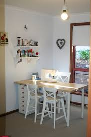large square craft table arresting wooden cutting table feat clear big window decorating
