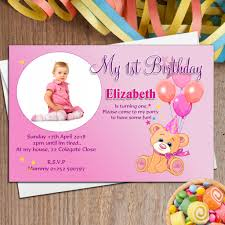 baby first birthday invitation cards festival tech com