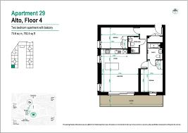 2 bedroom apartment to rent in alto ha9