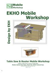 workshop plans ekho mobile workshop plans for sale