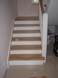 treppen holzstufen montagebau karstens günstige holztreppe lübeck betontreppen mit