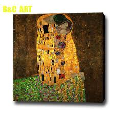 best quality famous art reproduction the kiss famous gustav klimt