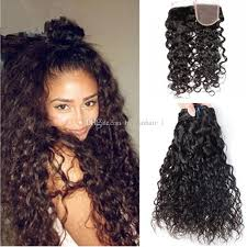 wet and wavy sew in hair care 2018 water wave human hair bundles wet wavy raw indian remy hair