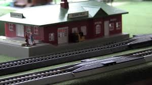 ho scale model set 4x6 lionell and bachman layout