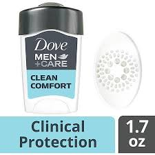 Dove Clean Comfort Bar Soap Dove Men Care Clinical Antiperspirant Deodorant Stick Clean