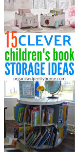 book storage kids 15 brilliant kids bookshelf ideas organised pretty home
