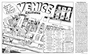 Venice Map A Free Walking Tour Of Venice Ca