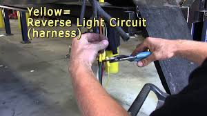installation of a trailer wiring harness on a 2008 ford f 250