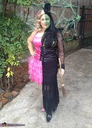 Glinda Halloween Costume Witch Misunderstood Witch Costume