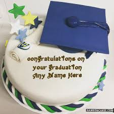 graduation cake images with name