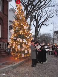 nantucket massachusetts usa a festive traditional christmas