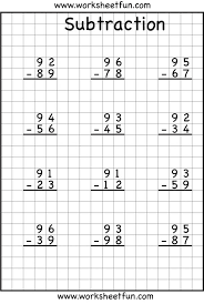 subtraction regrouping common core math pinterest