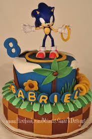 sonic birthday cake cakecentral com