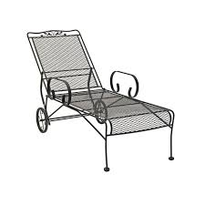 Iron Wrought Patio Furniture by Wrought Iron Patio Chaise Lounge Chairs Icamblog