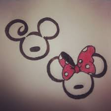 cartoon couple tattoos minnie and mickey tattoo designed for bp cute mickey and