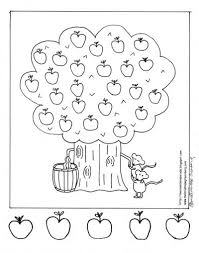 coloring page of fall extravagant apple tree coloring page fall fun coloring pages