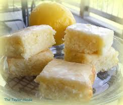 lemon brownies the taylor house