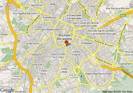 map brussels map of conrad brussels brussels