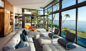 seaside home interiors seaside modern home design with luxury interior by touzet