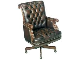 tufted leather desk chair tufted leather office chair office design