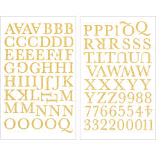 9 253 glitter gold letters 1 inch gold alphabet u0026 numbers iron