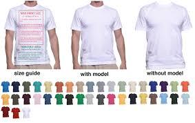 t shirt mockup templates to help display t shirt designs print
