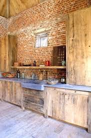table cuisine bois brut cuisine en bois naturel photo table cuisine en bois brut