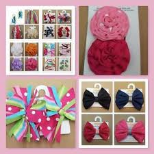 toddler hair accessories nwt baby toddler girl gymboree hair accessories bow clip band pony