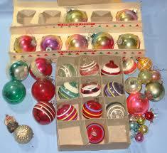 modest design vintage tree ornaments pile of