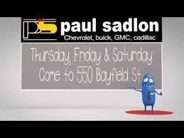 buick black friday paul sadlon chevrolet black friday youtube