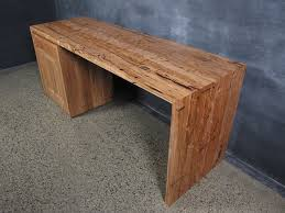 Timber Office Desk Yellow Stringybark Timber Desk Christian Cole Furniture