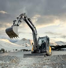 volvo na volvo ec55c compact excavator when productivity efficienc u2026 flickr