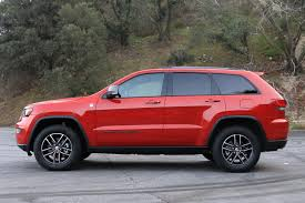 2017 jeep cherokee sport 2017 jeep grand cherokee trailhawk review digital trends