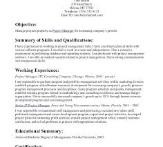 resume summary of qualifications management it resumery statement exles the most important thing on your