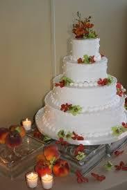 wedding cake with fresh orchids wedding dish