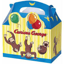 curious george favor boxes 4ct walmart