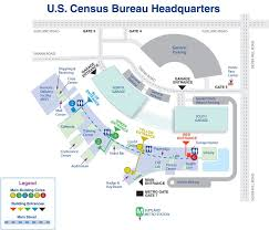 bureau center maps to the census bureau and of the suitland federal center