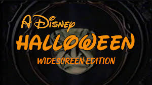 a disney halloween widescreen youtube