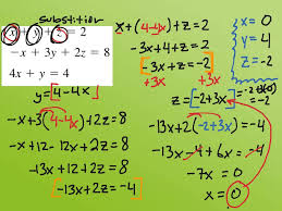 showme example solving systems of linear equations in two