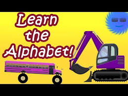 bus monster truck videos monster truck buses and excavators teaching children letters