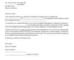 how to write a 2 weeks notice letter quora