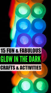 15 Glow In The Dark Crafts and Activities For Kids  let there be