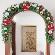christmas plain pine garland fireplace xmas tree decoration
