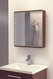 Bathroom Mirror Cabinets With Light And Shaver Socket Battery Led Illuminated Bathroom Mirror Cabinet Ip44 Photonic