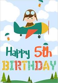 boys birthday happy 5th birthday birthday books for boys birthday journal