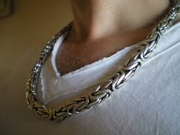 mens silver byzantine necklace images 10mm silver byzantine necklaces jpg