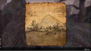 Morrowind Map Elder Scrolls Online Morrowind Vvardenfell Ce Treasure Map I Youtube